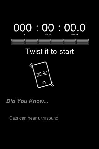 Screenshot How Long Can You Twist It?